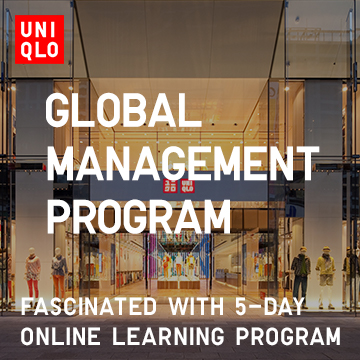 UNIQLO GLOBAL MANAGEMENT PROGRAM