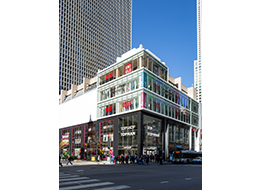 USA: Chicago North Michigan Avenue store