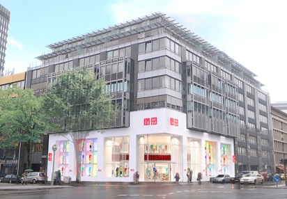 UNIQLO's First Store in Germany