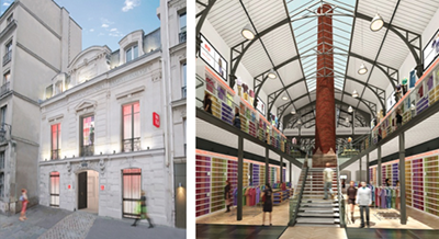 Uniqlo launches exceptional landmark store in fashionable paris district of l - Uniqlo francs bourgeois ...