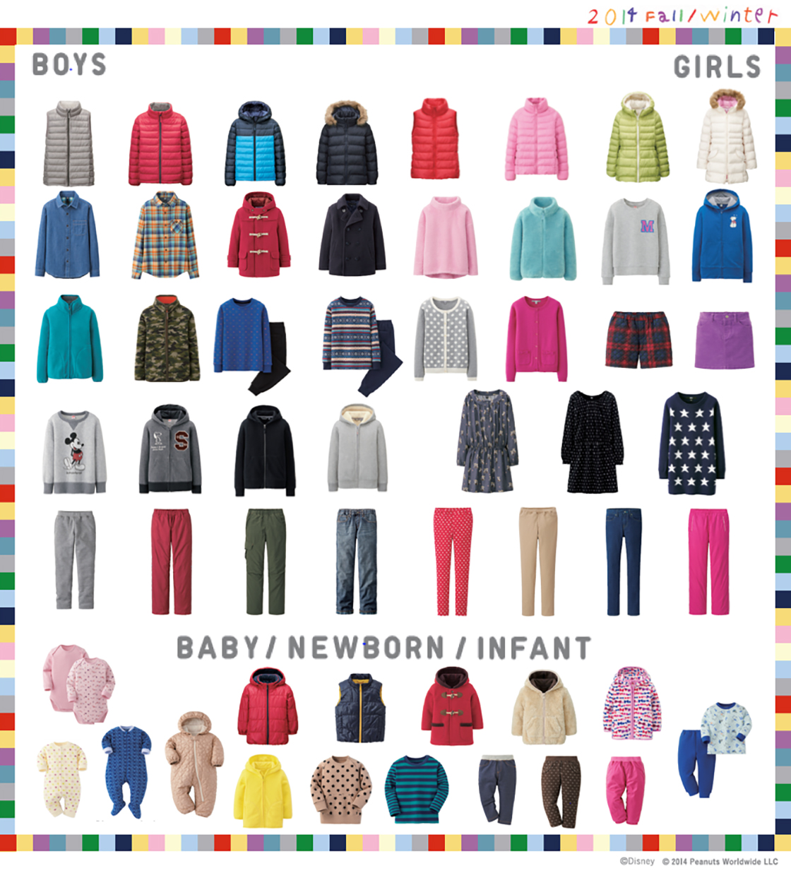 997ade763 UNIQLO Expands its Kids and Babies Collection - Greater variety of ...