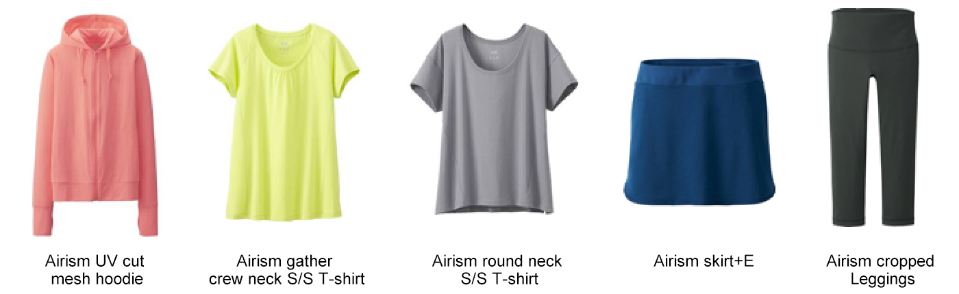 UNIQLO's 2015 AIRism Collection to Include New Mesh, and