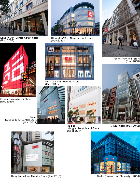 global flagship stores