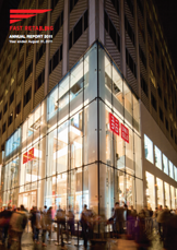 Fast Retailing Annual Report 2011 cover image