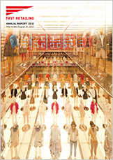 Fast Retailing Annual Report 2012 cover image