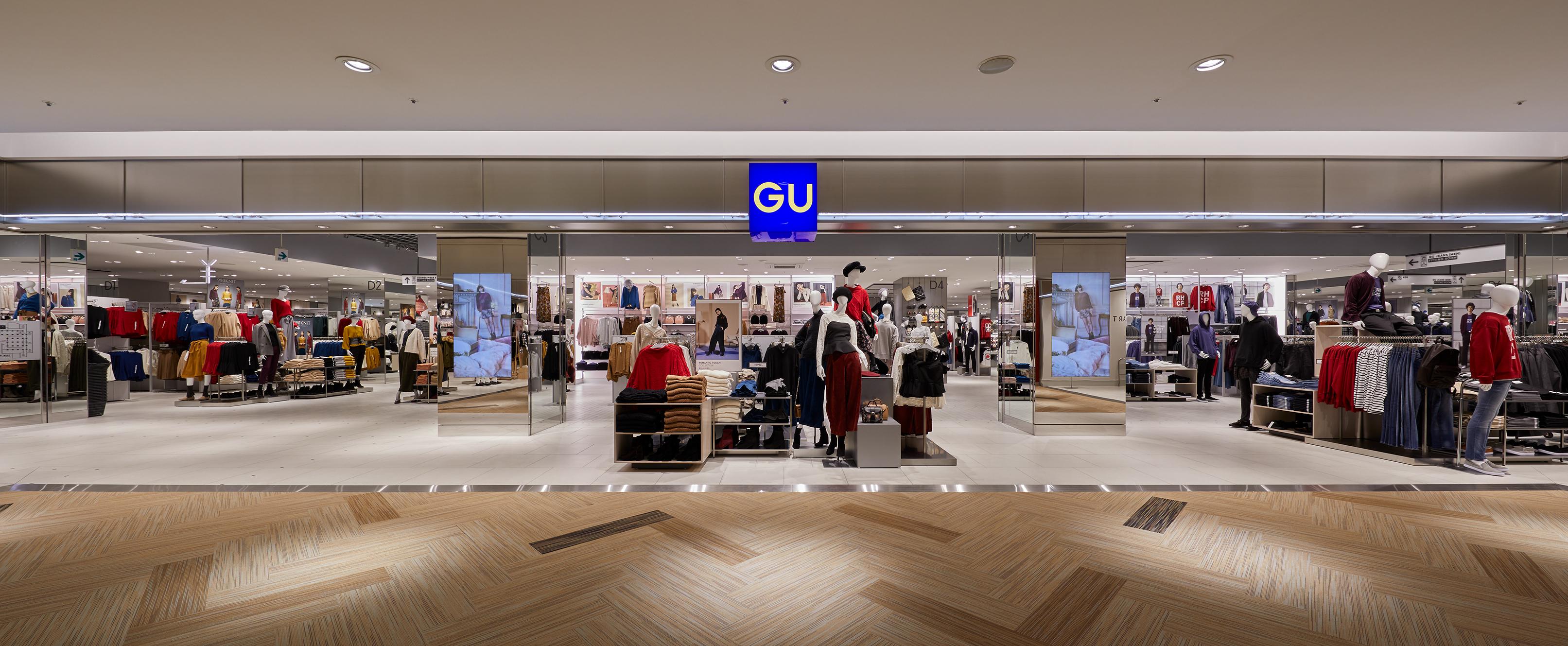 ジーユー (GU) - ショップ・店舗・取り扱い ...