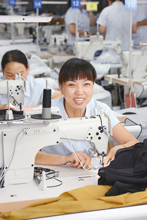 UNIQLO production partner sewing factory in Bangladesh